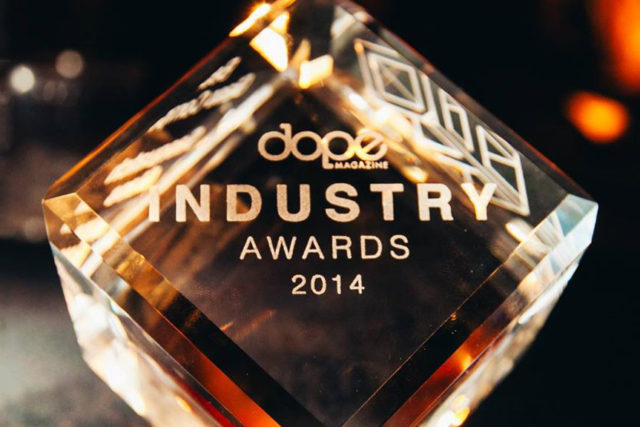 Dope Industry Awards, December 2014